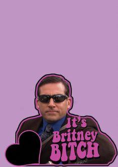Michael Scott It's Britney Bitch Wall Art