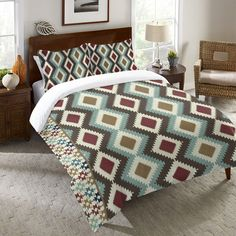 Native Tapestry Duvet Cover and Shams – Laural Home