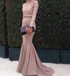 Cheap evening gown dresses, Buy Quality evening dress 2016 directly from China mermaid evening dress Suppliers: Mermaid Evening Dress 2016 High Neck Long Sleeve Women Formal Dress Top Lace Floor Length Turkish Evening Gowns Dresses Muslim Evening Dresses, Hijab Evening Dress, Mermaid Evening Dresses, Evening Gowns, Prom Dresses Long With Sleeves, Formal Dresses For Women, Hijab Prom Dress, Muslim Prom Dress, Shirt Bluse