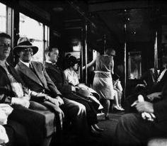 1930 in der Berliner U-Bahn