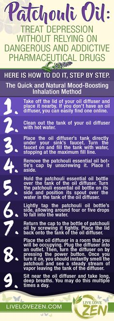 Patchouli Oil: Treat Depression without Relying on Dangerous and Addictive Pharmaceutical Drugs