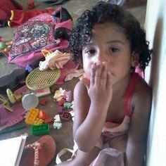 Minha sobrinha bahianinha Beatriz, amada...