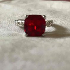 Gorgeous red stone ring size 7 - Mercari: Anyone can buy & sell