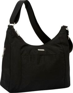 """baggallini Companion Hobo - EXCLUSIVE Black/Sand - via eBags.com.  Smaller than the """"regular"""" Baggallini hobo, but still large enough to carry everything you need on a daily basis.  This is now my """"everyday"""" bag."""