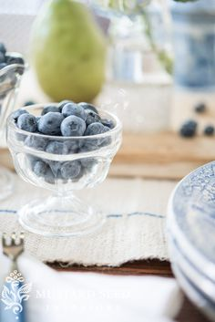 blueberries | miss mustard seed