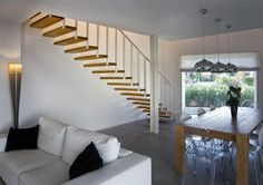 Design Wooden Stairs   #italian #design
