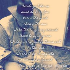 Cowboys Like Us- George Strait
