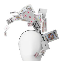 SELFRIDGES_Philip Treacy Playing Card headband_£TBC
