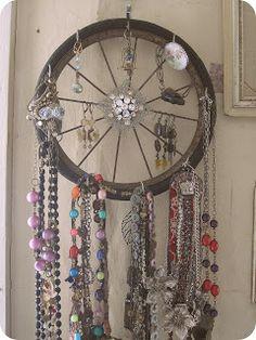 Shabby Chic Jewelry Storage and Display Idea   Sacred Cake by Jennifer Valentine