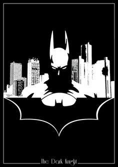 DC Comics Superhero Silhouettes: Batman by Romain Therasse Batman Vs, Marvel Dc Comics, Nightwing, Batgirl, Catwoman, Comic Book Characters, Comic Character, Batman Silhouette, Batman Kunst