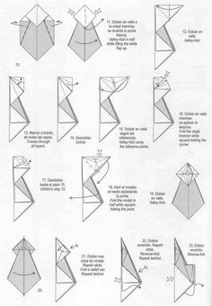 Head to the webpage to see more on Origami Folding Origami And Math, Origami And Kirigami, Origami Paper Art, Origami Folding, Oragami, Diy Origami, Paper Folding, Paper Crafts, Origami Unicorn Instructions