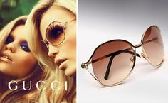 My new shades in 70's 80's style. In Gold and Brown