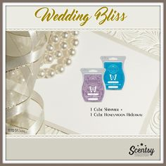 WEDDING BLISS Mixology, order today at www.smellarific.com.