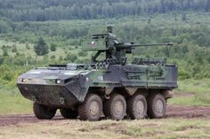 Pandur II 8x8 Armored Infantry Vehicle Czech Army