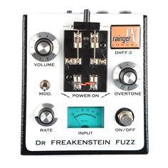 Rainger FX Dr. Freakenstein Fuzz DrFF-3 w/ Igor