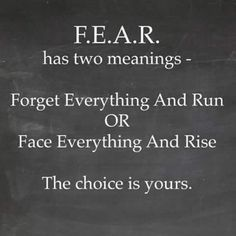"11:01 AM: ""F.E.A.R. has two meanings. The choice is yours."" –Zig Ziglar"