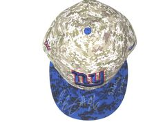 size 40 f7d34 aeee9 Jay Bromley Sideline Worn   Signed New York Giants Salute to Service New  Era Hat