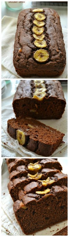 Now you can enjoy brownies in the form of a healthy banana bread…for breakfast! @WholeHeavenly