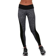 Noir Sport Legging FemmeFille fitness minceur collant