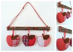 Kész cuki almás és baglyos kopogtatók - Masni / Easy fall door wreaths DIY