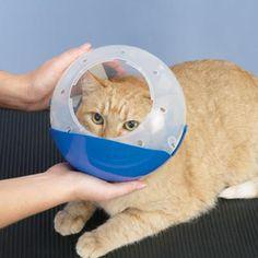 Air Muzzle II Restraint - pełny kołnierz dla kotów i małych psów, ochronny kaganiec do zabiegów pielęgnacyjnych