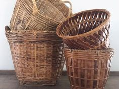 Your place to buy and sell all things handmade Anchor Hocking Glassware, Rattan Planters, Vintage Baskets, Ceramic Pitcher, See Images, Houseplants, Indoor Plants, Wicker, Bamboo