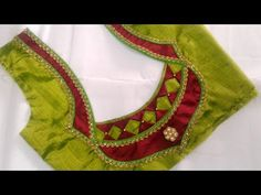Hello Viewers Welcome To MMS DESIGNER. This video will show you how to create a beautiful and simple way MMS Latest Blouse Back Neck designs Easy Cutting and. Cutwork Blouse Designs, Patch Work Blouse Designs, Pattu Saree Blouse Designs, Simple Blouse Designs, Stylish Blouse Design, Blouse Back Neck Designs, Saree Blouse Patterns, Lehenga Designs, Sari Blouse