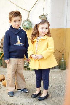 Love this outfit by Janie and Jack.  Such a fun and cute color combo to cure the Winter blah.