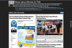 Online magazine: The latest news about Bovee and Thill