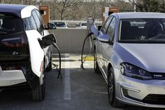BMW, Ford, Mercedes, VW Group to build electric-car fast-charging network in Europe Car Charging Stations, Vw Group, Bmw I3, Tesla Motors, Electric Cars, Fast Cars, Volkswagen, Vehicles, Golf