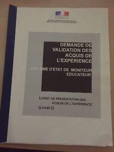 Livret 2 Livret 1 Vae Moniteur Educateur Valide Envoi Livret Livret 2 Vae Livret 1 Vae