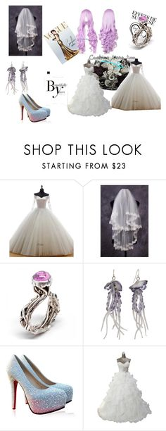 """""""My jellyfish Wedding"""" by mewlioness on Polyvore featuring Sonam Life, women's clothing, women, female, woman, misses and juniors"""