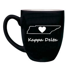 Kappa Delta Sweet Home Bistro Mug