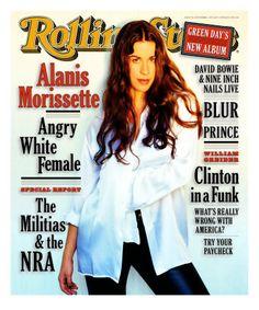 Alanis Morisette-loved her first album