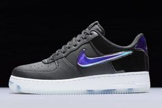 "separation shoes 2847b 5789b Nike Air Force 1 Low ""PlayStation"" Black Varsity Royal-White BQ3634-001"