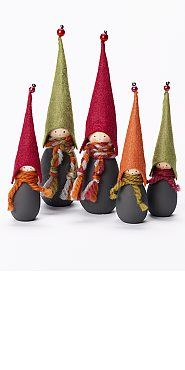 sweet tomte family. this is a kit and is available for purchase.
