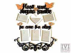 <strong>Culoare principala</strong> : rama <strong>Culoare secundara</strong> : Textul <strong>A 3-a culoare</strong>: Fluturasii si inimioarele colorate Holiday Decor, Home Decor, Style, Swag, Decoration Home, Room Decor, Home Interior Design, Outfits, Home Decoration