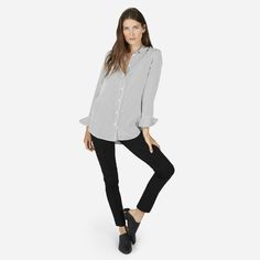 "Everlane | The Stretch Ponte Skinny Pant - ""Feels like a legging, looks like you tried"""