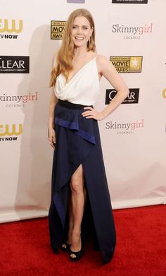 Critic's Choice Awards 2013 Red Carpet: Vote for the Best Dressed Now!: Dressed