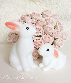 Creme de la Creme: Lampki króliczki - pomysł na prezent dla dziecka Creme