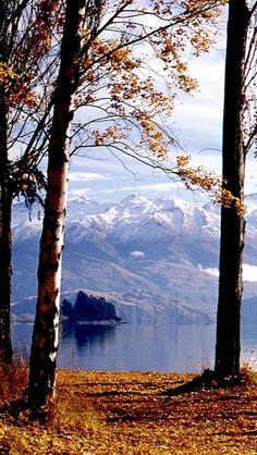 Beautiful Lake Wanaka, Otago District, South Island, New Zealand ~