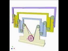 Cable telescopic frame - YouTube