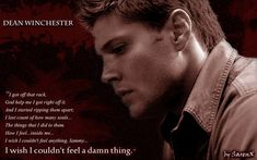 Dean Winchester Quotes | Dean Winchester quote about Hell by SarenX