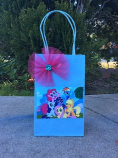 My Little Pony Birthday Party Candy Bags by FantastikCreations My Little Pony Cumpleaños, Fiesta Little Pony, Cumple My Little Pony, Little Pony Cake, My Little Pony Birthday Party, Little Poney, Unicorn Birthday Parties, Unicorn Party, 3rd Birthday