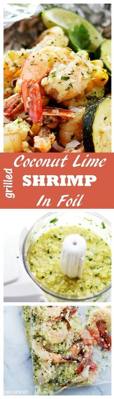 Grilled Coconut Lime
