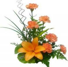 Image result for arreglos florales con claveles para boda