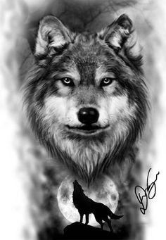 Pin by Victoria On Tattoo Ideas Flowers Wolf Tattoos Men, Native Tattoos, Badass Tattoos, Animal Tattoos, Body Art Tattoos, Wing Tattoos, Celtic Tattoos, Wolf Sleeve, Wolf Tattoo Sleeve