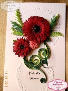 Filigrana - Quilling en Chile: Algunas tarjetas de filigrana :)
