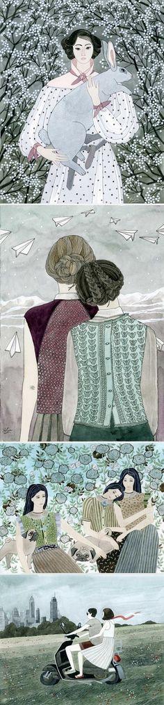 Illustrations by Yuliya / On the Blog!