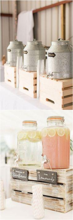 Rustic country farm wedding ideas / http://www.deerpearlflowers.com/gorgeous-ideas-for-country-farm-wedding/2/ #weddingideas
